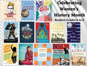 Women's History Month Grade 4-8