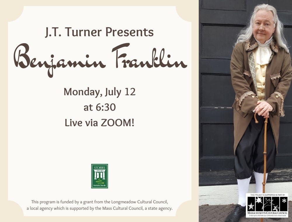 Flyer for The Adventures of Benjamin Franklin