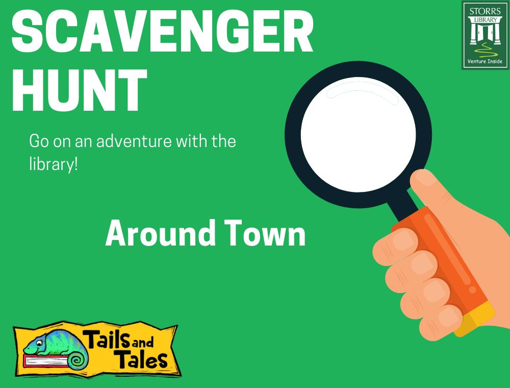 Around Town Scavenger Hunt