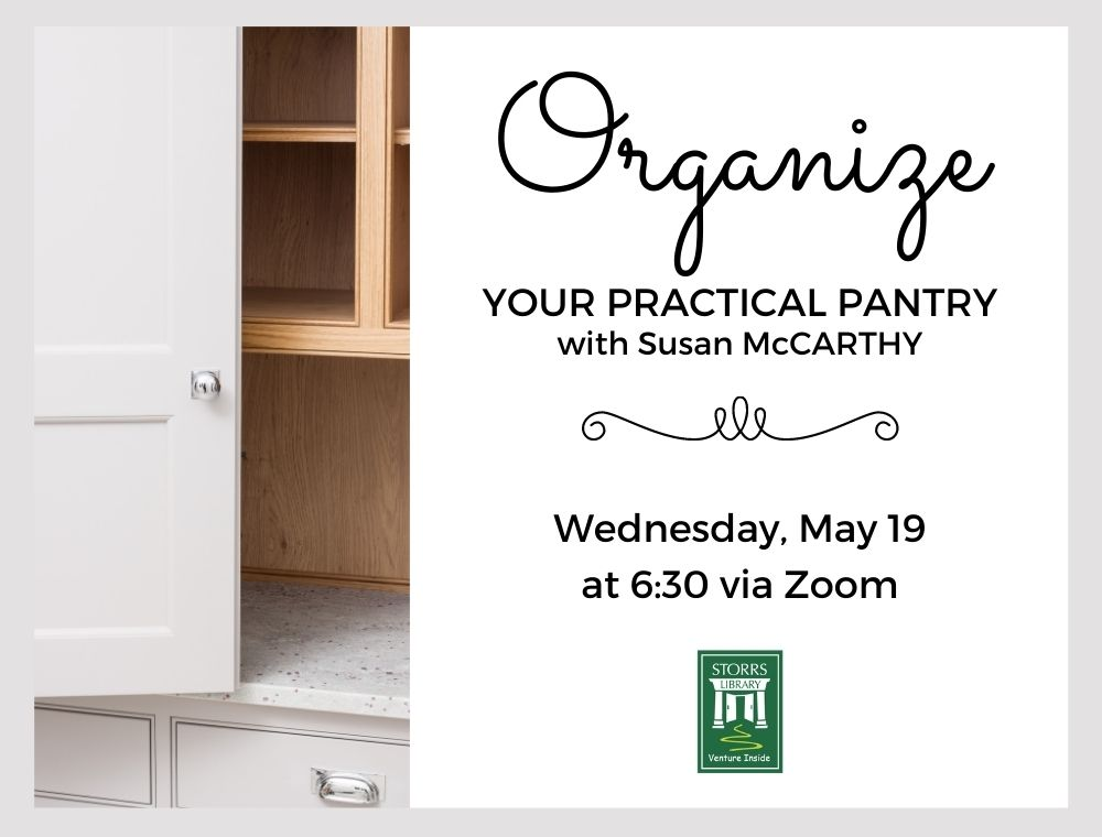 Flyer for Organize Your Practical Pantry