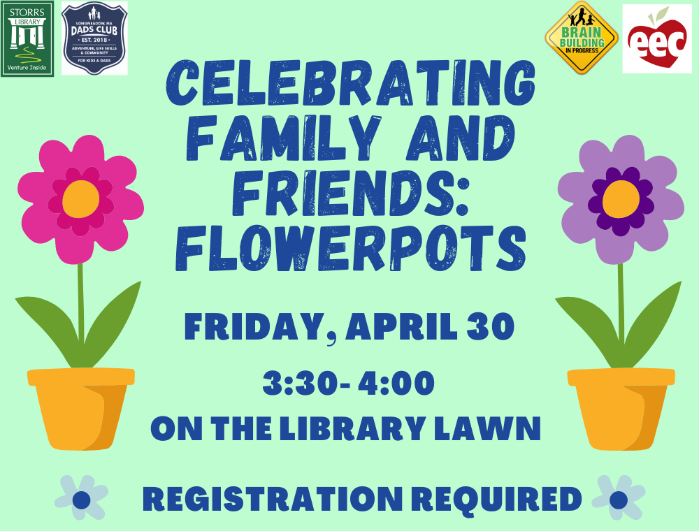 Flyer for Celebrating Family and Friends: Flowerpots