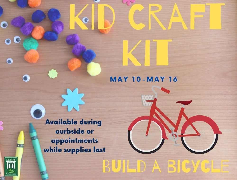 Kid Craft Kit: Build a Bicycl