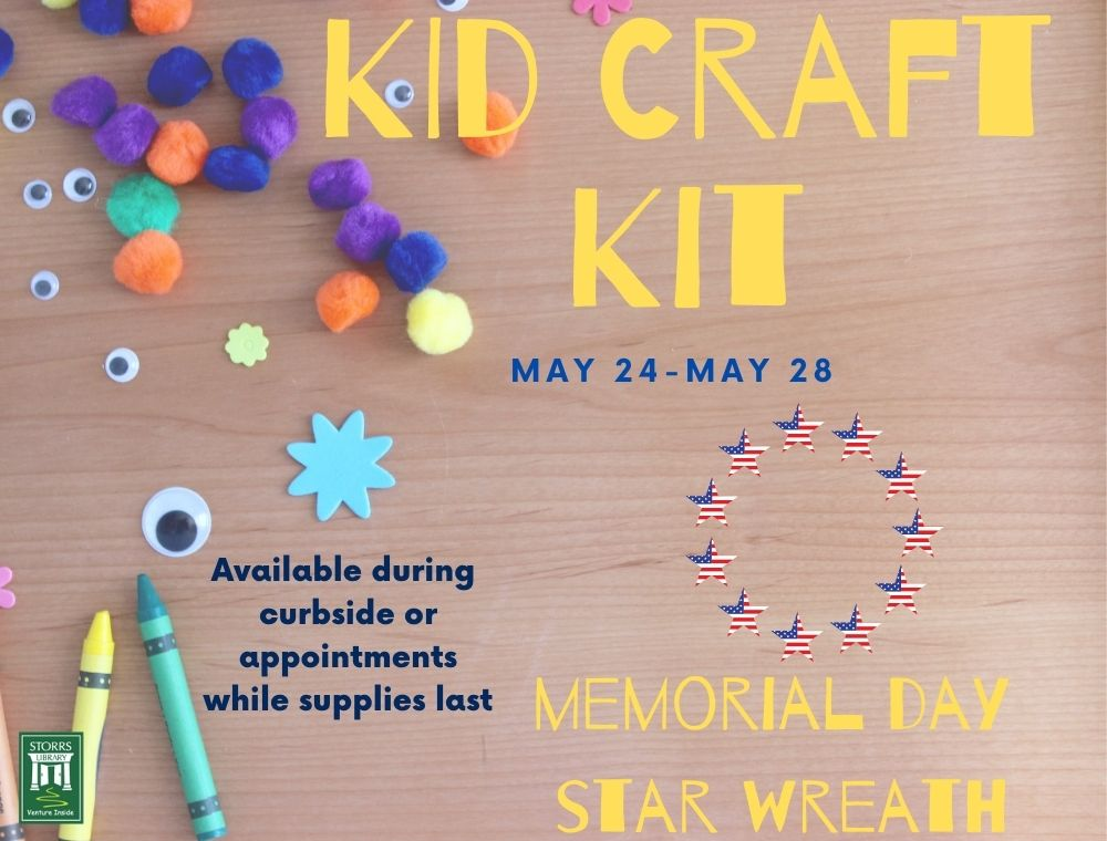 Kid Craft Kit: Memorial Day Star Wreath