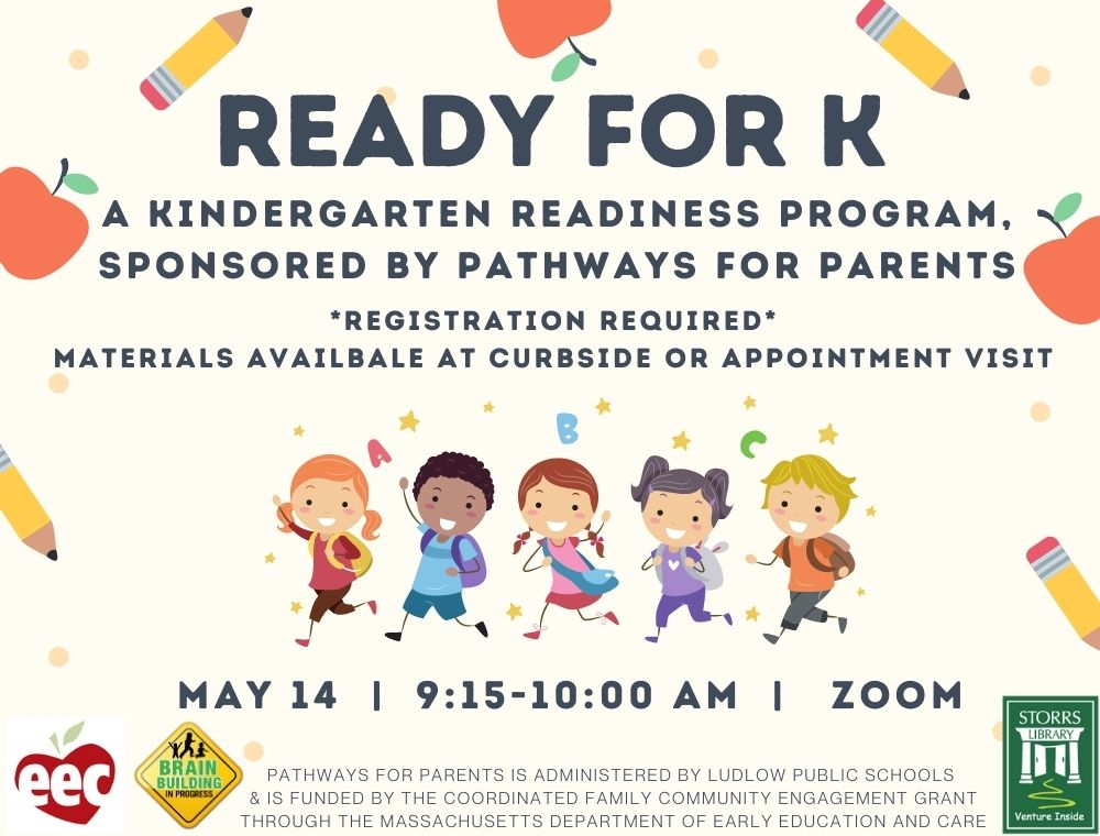 Flyer for K Readiness sponsored by Pathways for Parents CFCE