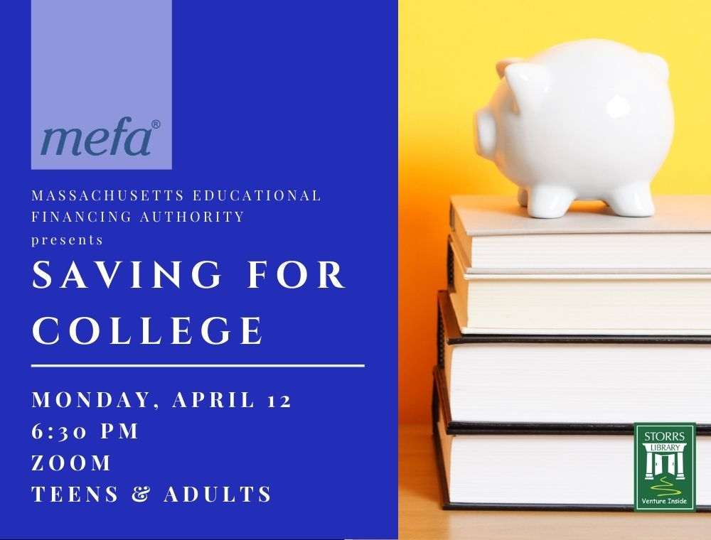Flyer for MEFA Saving for College
