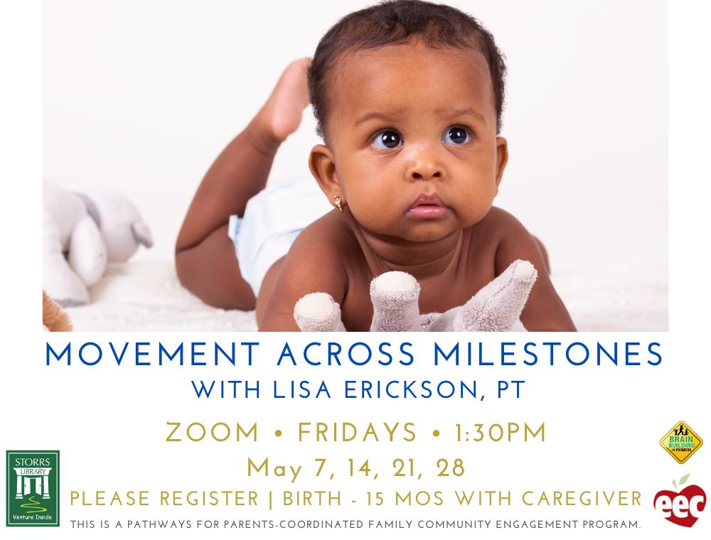 Flyer for Movement Across Milestones