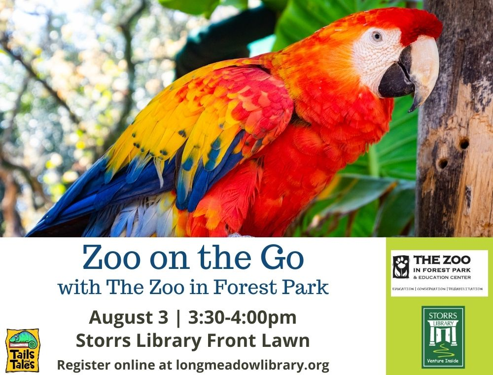 Flyer for Zoo on the Go with The Zoo at Forest Park
