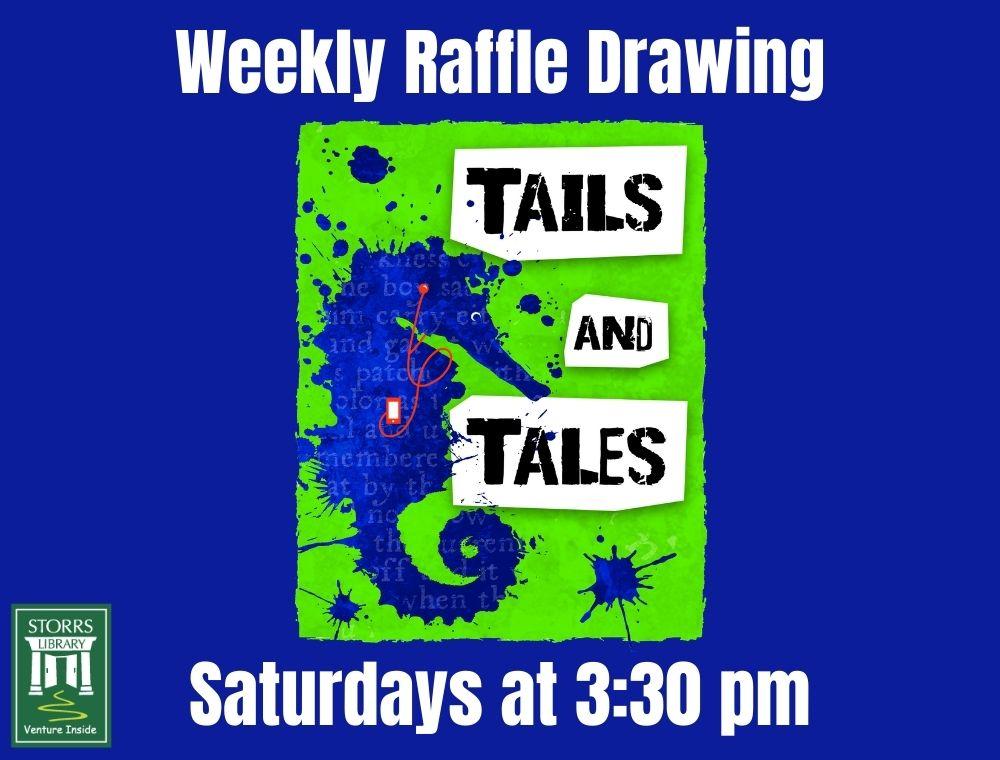 Flyer for Teen Weekly Raffle Drawing