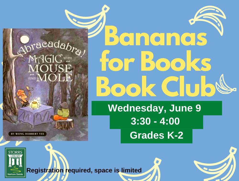Bananas for Books June