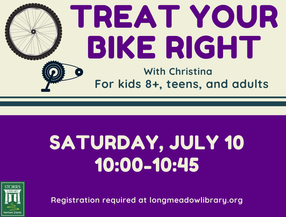 Flyer for Treat Your Bike Right