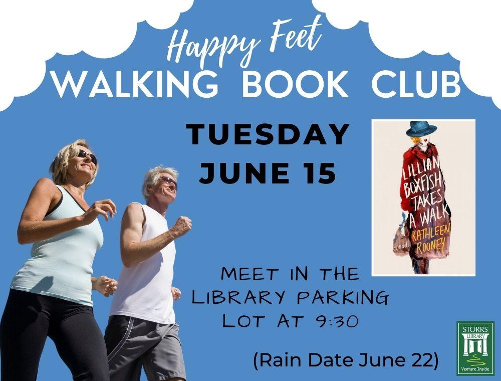Walking Book Club Flier