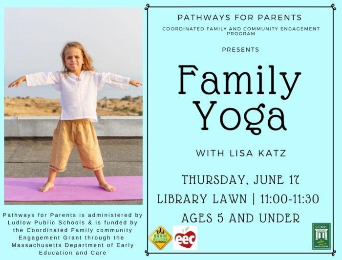 Family Yoga With Lisa Katz