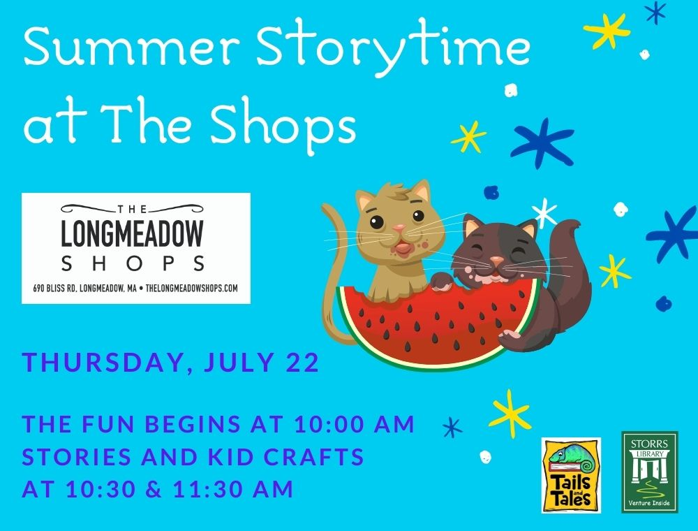 Summer Storytime at the Longmeadow Shops