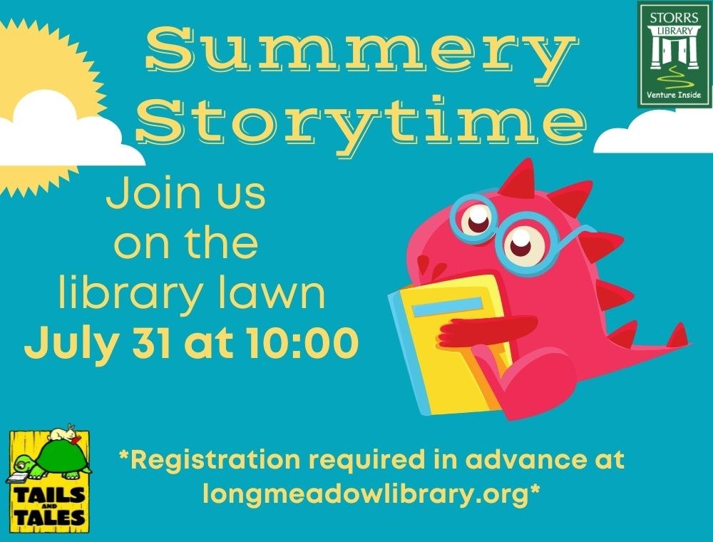 Summery Storytime at Storrs Library