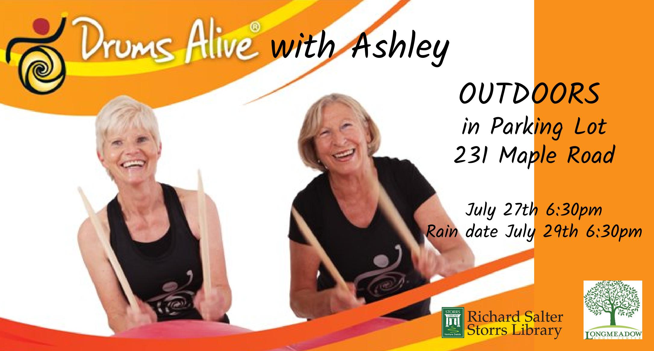 Flyer for Drums Alive