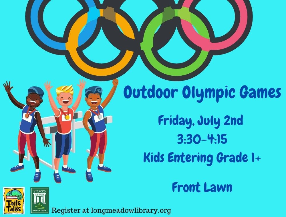 Flyer for Olympic Games