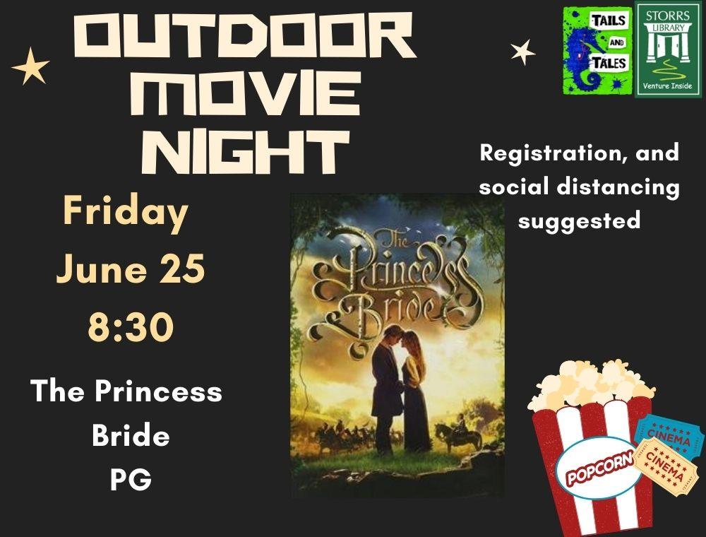 Outdoor Movie Princess Bride flyer