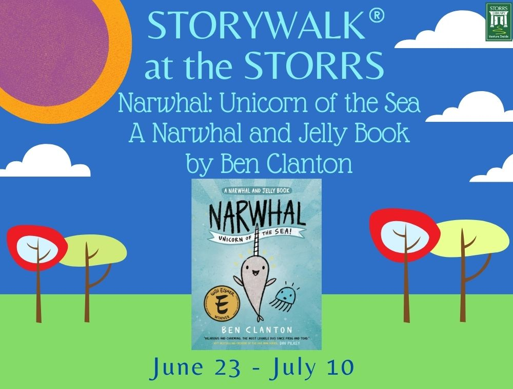 Narwhal and Jelly StoryWalk