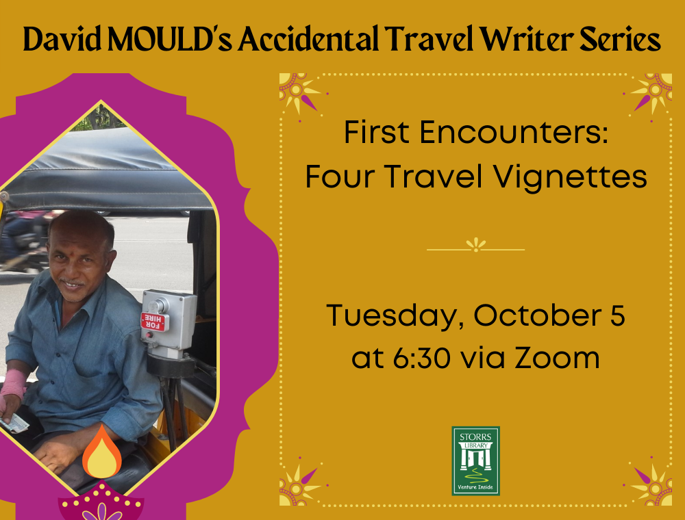 Flyer for First Encounters—Four Travel Vignettes