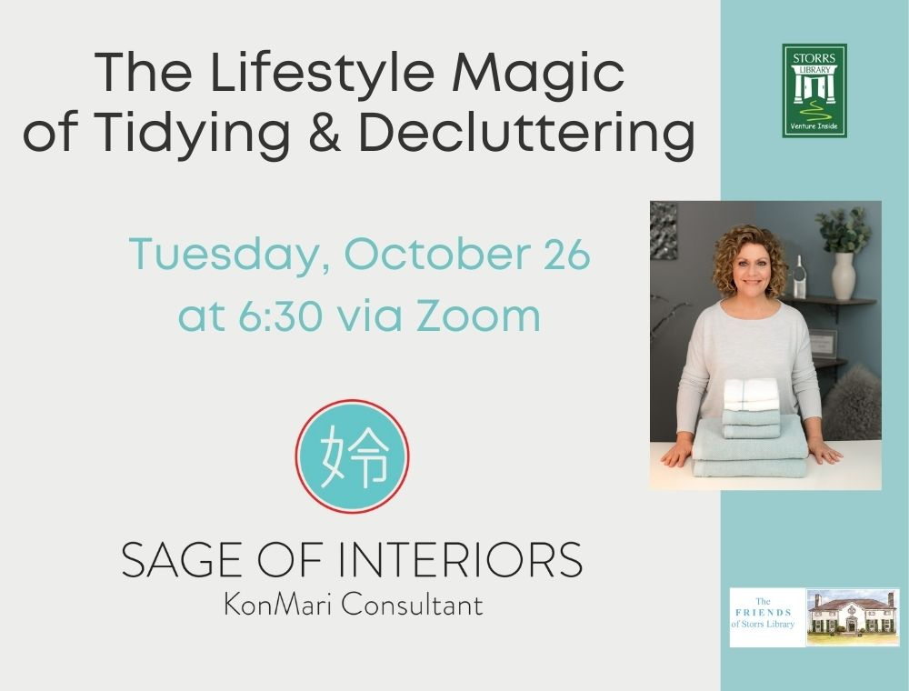 Flyer for The Lifestyle Magic of Tidying & Decluttering