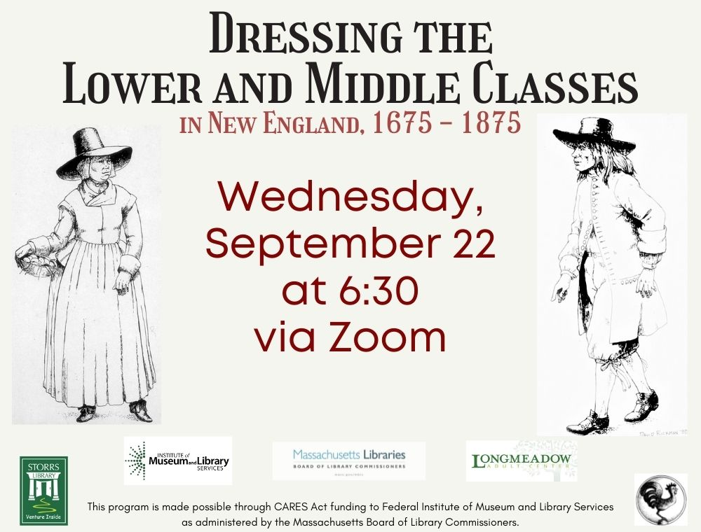 Flyer for Dressing the Lower and Middle Classes in New England, 1675 - 1875
