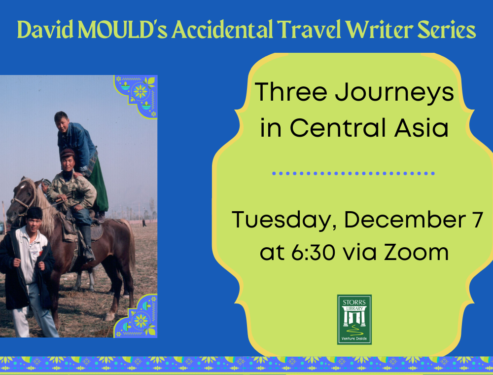 Flyer for Three Journeys in Central Asia