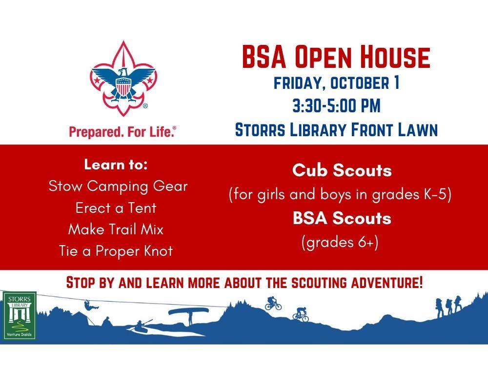 BSA Open House