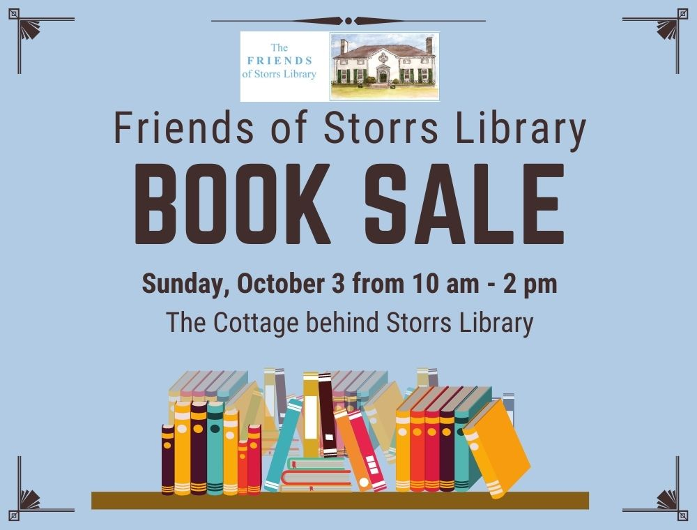 Friends of Storrs Library Book Sale
