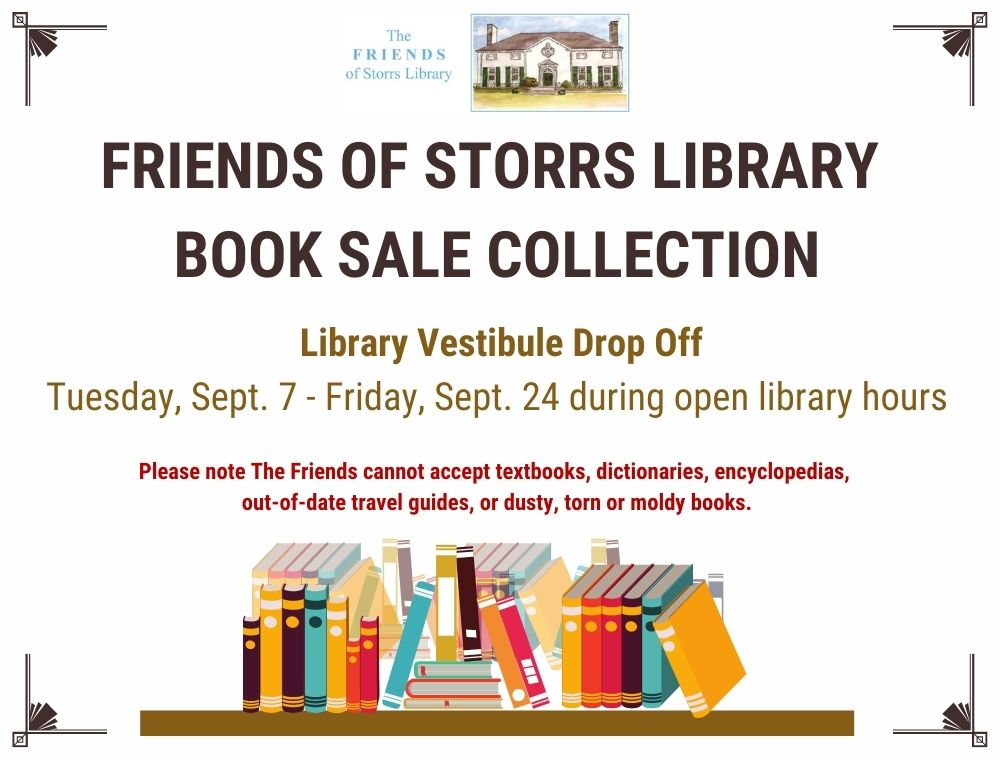 The Friends of Storrs Library Book Sale Collection