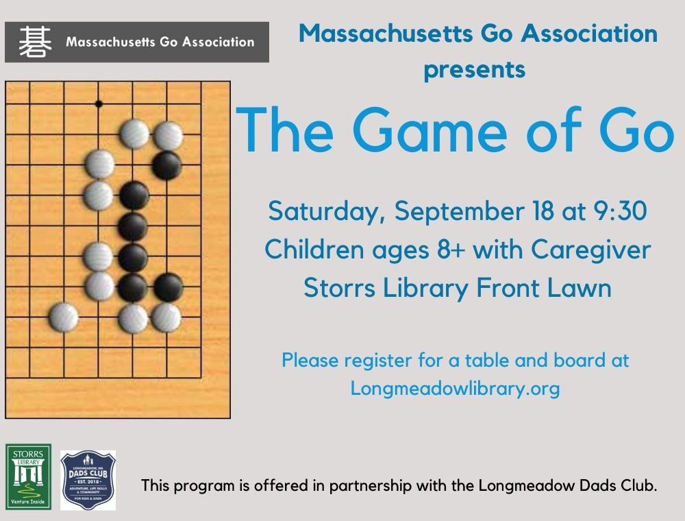 Flyer for The Game of Go