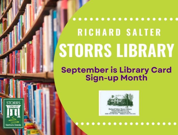September Library Card Sign Up Month
