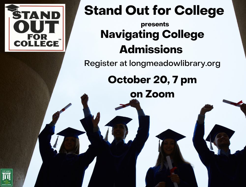 Stand Out for College Navigating College Admissions flyer