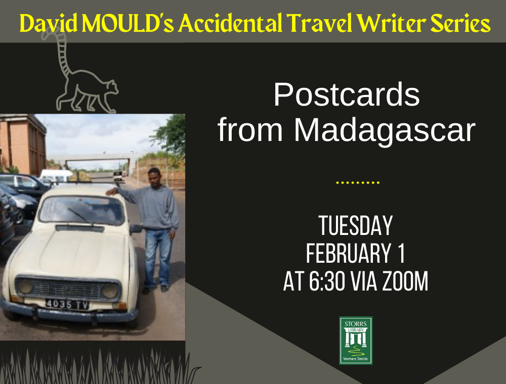 Flyer for Postcards from Madagascar