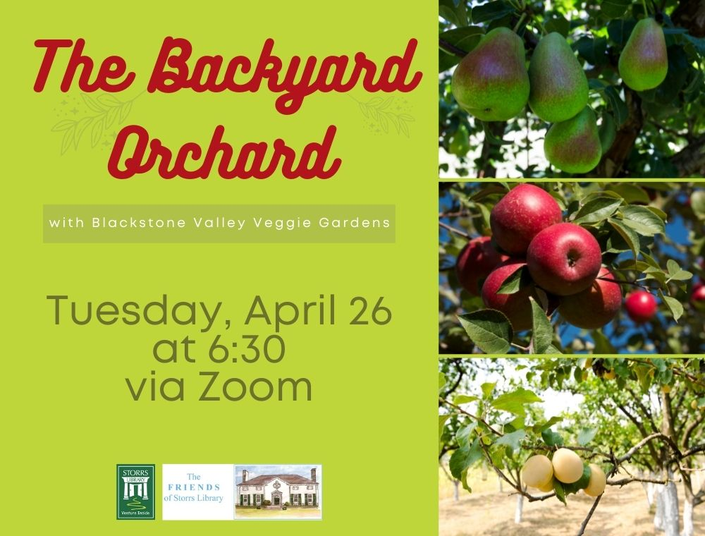 Flyer for The Backyard Orchard