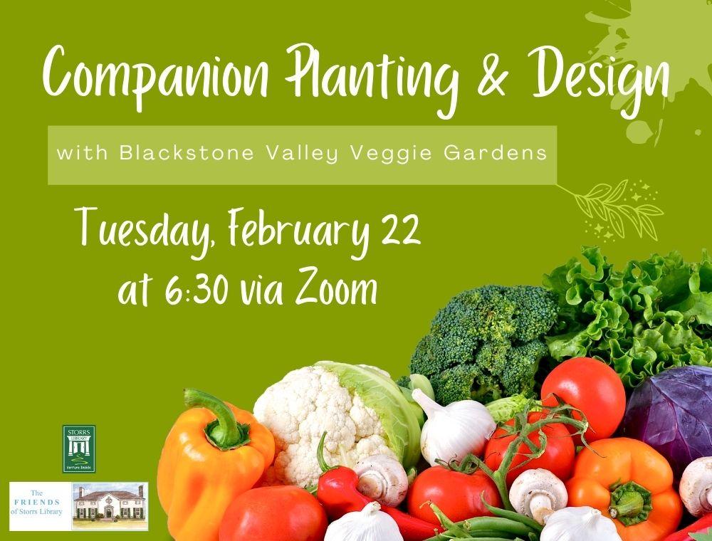 Flyer for Companion Planting & Design