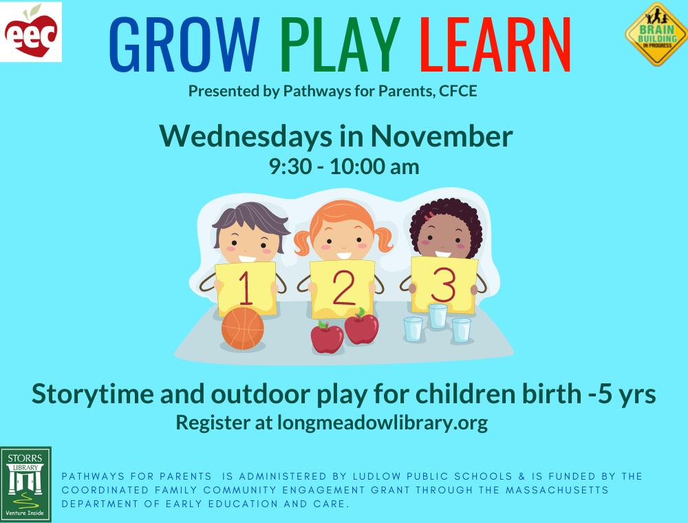 November Grow Play Learn