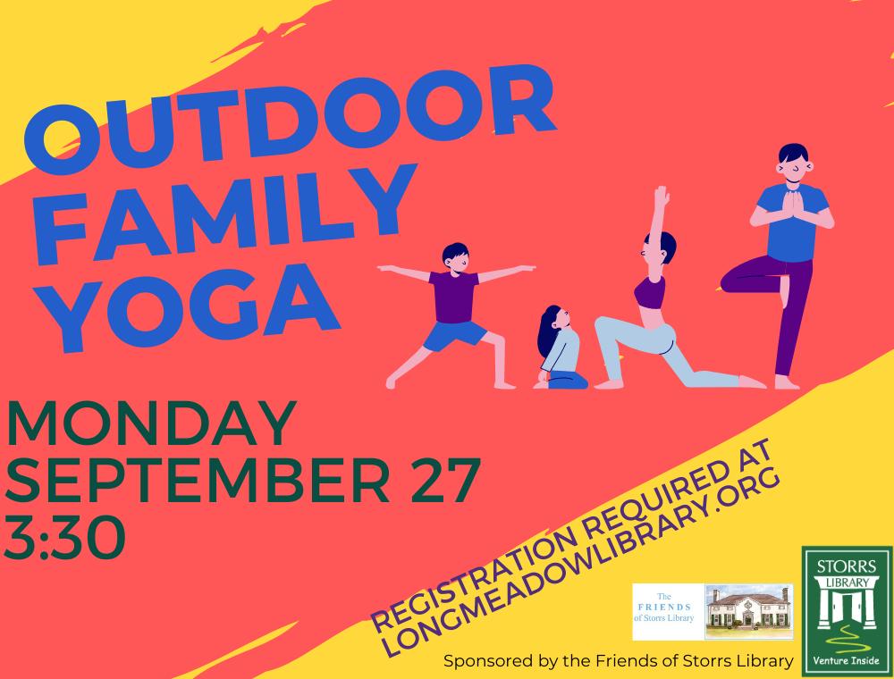Outdoor Family Yoga Flyer