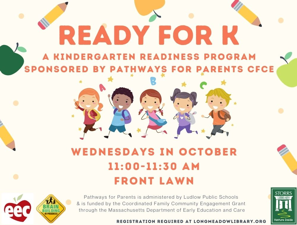Ready for K sponsored by Pathways for Parents CFCE