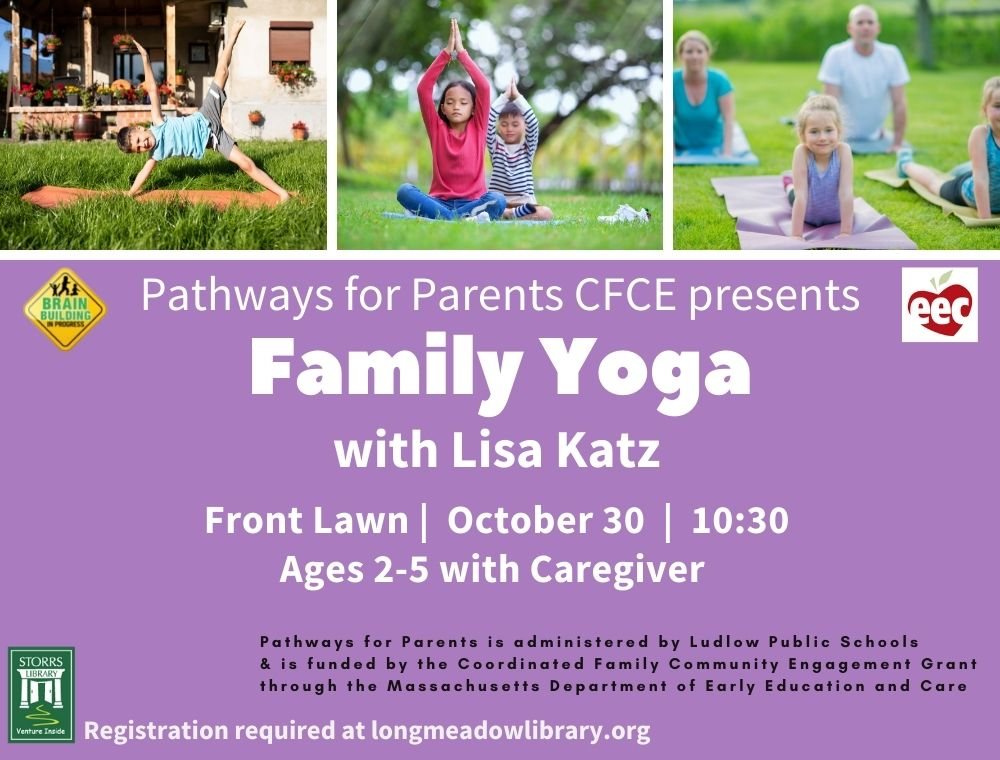 Family Yoga with Lisa Katz sponsored by Pathways for Parents CFCE