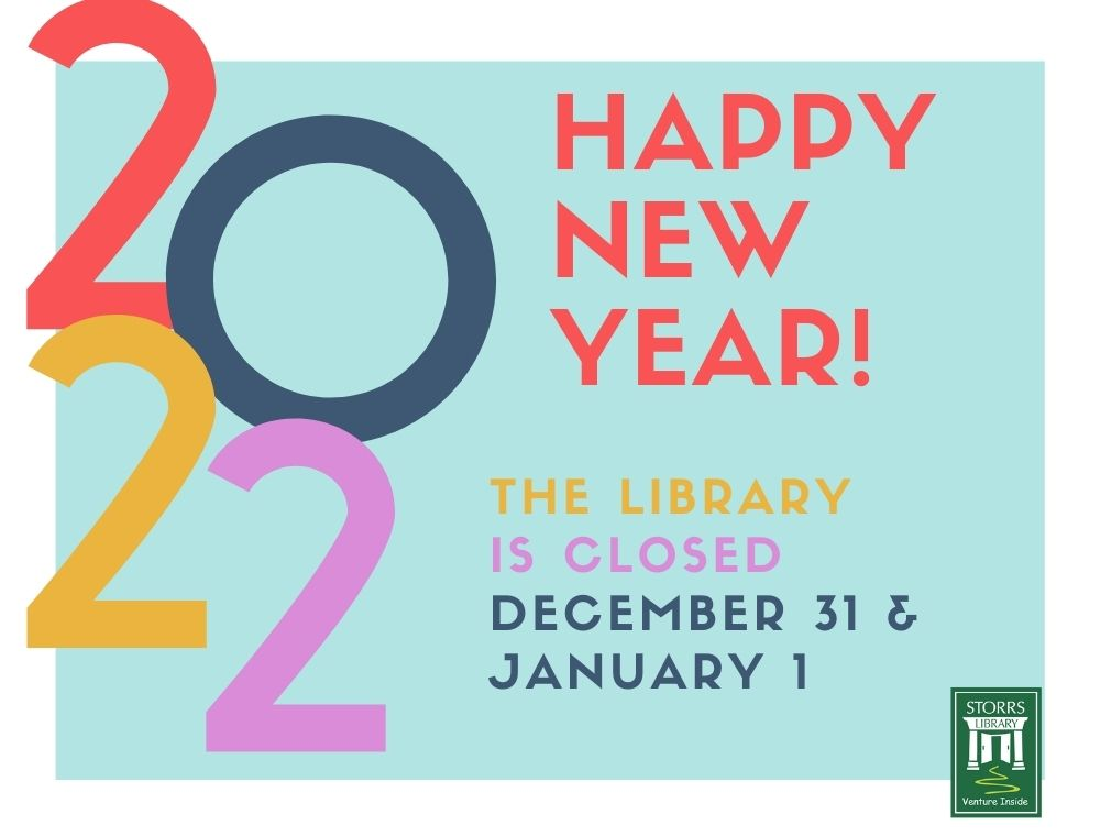 Library Closed December 31 and January 1