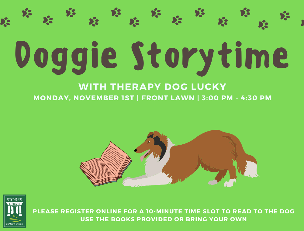Doggie Storytime with Lucky