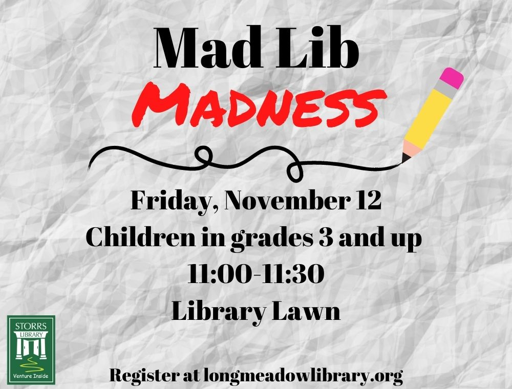 Flyer for Mad Lib