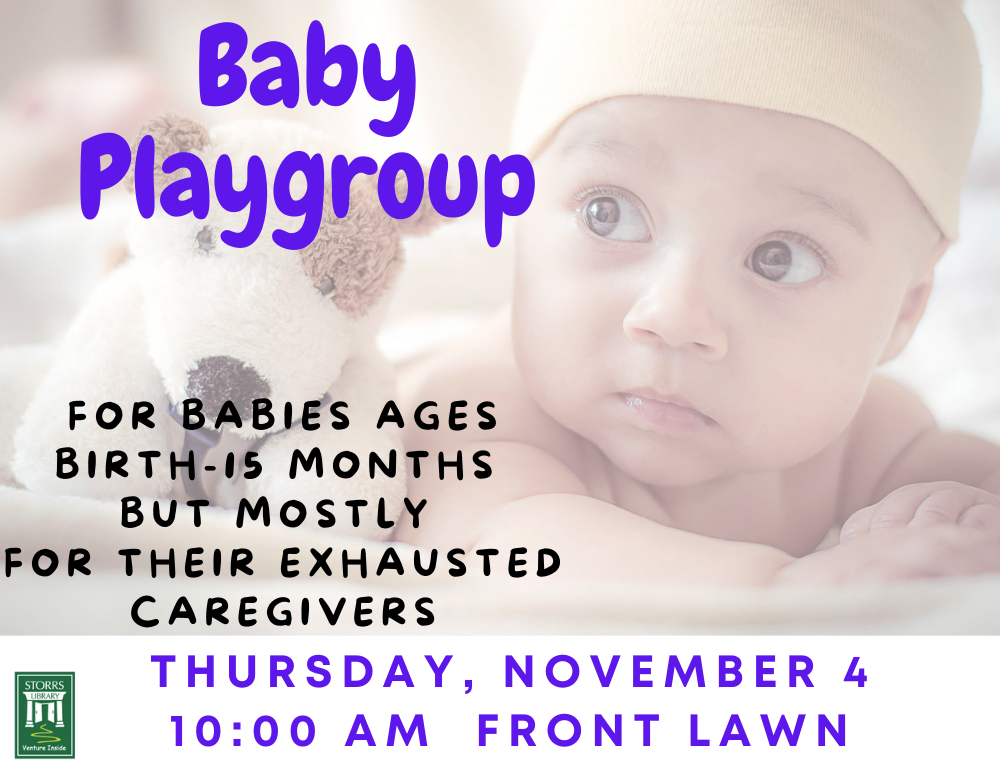 Baby Playgroup (birth to 15 months)